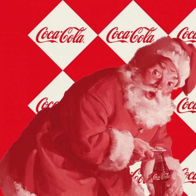 cartel Cocacola Navidad
